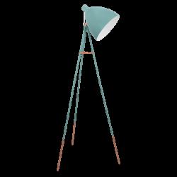 DUNDEE 49342 -MIĘTOWA LAMPA PODŁOGOWA   EGLO