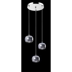 CRYSTAL-LAMPA WISZĄCA  P0076-03M-B5FZ ZUMA LINE